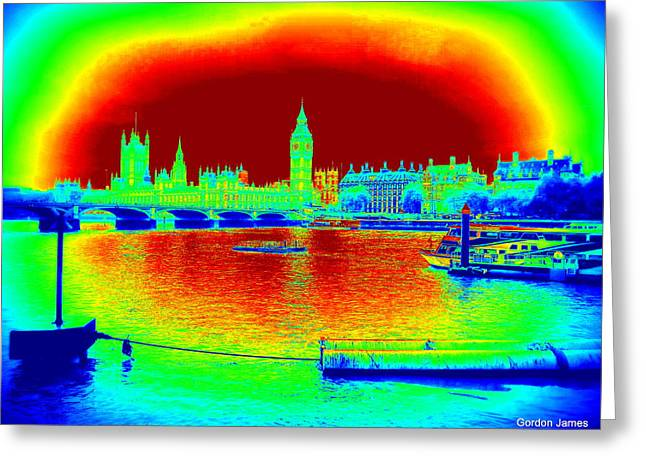 Photogrpah Greeting Cards - London Icon 1 Greeting Card by Gordon James
