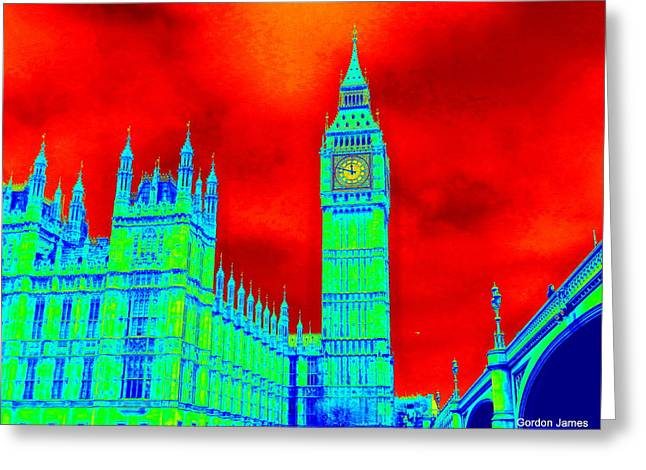 Photogrpah Greeting Cards - London Icon 2 Greeting Card by Gordon James
