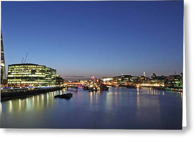 Purchase Greeting Cards - London Greeting Card by Ollie Taylor