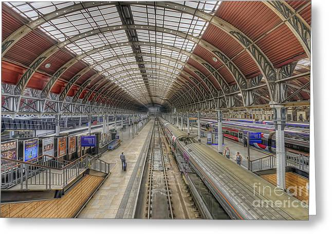 London Paddington  Greeting Card by Darren Wilkes