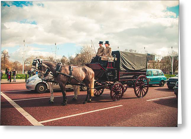 Kjg Greeting Cards - London royalty Greeting Card by Mirra Photography