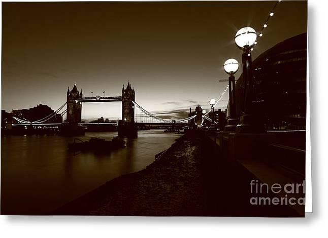 London Tower Bridge  Greeting Card by Mariusz Czajkowski