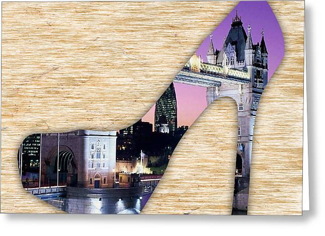 London Tower Bridge Greeting Card by Marvin Blaine