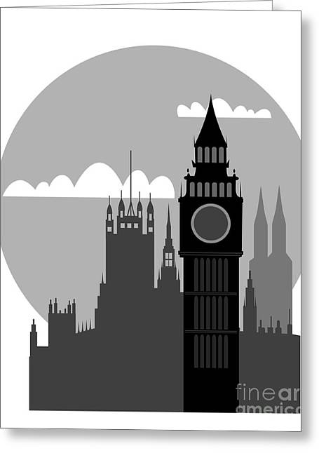 General Concept Digital Greeting Cards - London Greeting Card by Michal Boubin