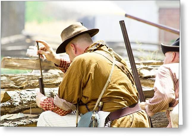 Split Rail Fence Greeting Cards - Lone Jack Reload Greeting Card by Steven Bateson