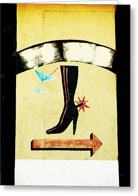 Saloons Greeting Cards - Lone Spur Greeting Card by Pamela Patch