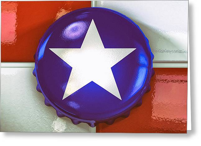 Lone Star Beer Greeting Card by Scott Norris