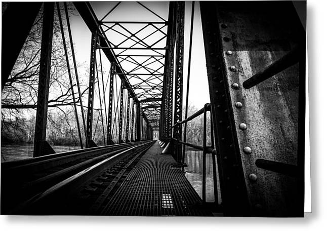 Jahred Allen Photography Greeting Cards - Lonely Bridge Greeting Card by Jahred Allen