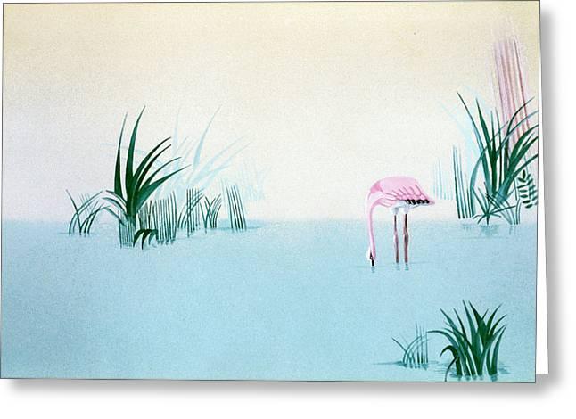Lonely Day Greeting Card by Daniele Zambardi
