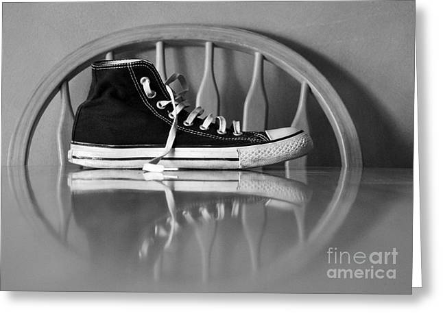 Conversing Digital Art Greeting Cards - Lonely feet 03 Greeting Card by Bobby Mandal