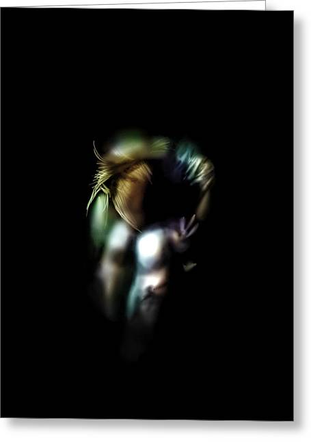 Anton Egorov Greeting Cards - Lonely in the dark Greeting Card by Anton Egorov