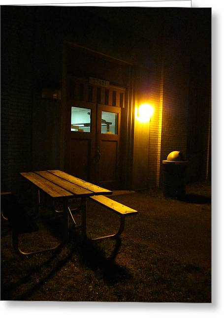 Guy Ricketts Photography Greeting Cards - Lonely Spot Greeting Card by Guy Ricketts