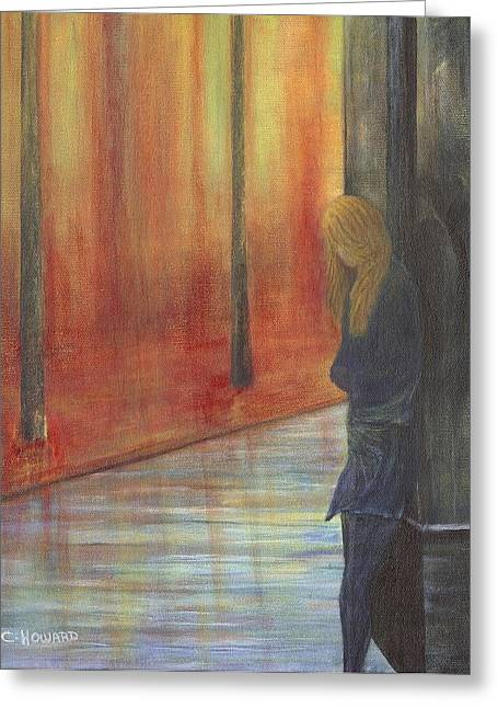 Catherine Howard Greeting Cards - Lonely Street Greeting Card by Catherine Howard