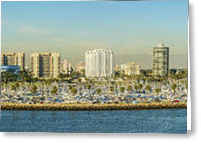 Long Beach California Greeting Card by Clear Sky Images