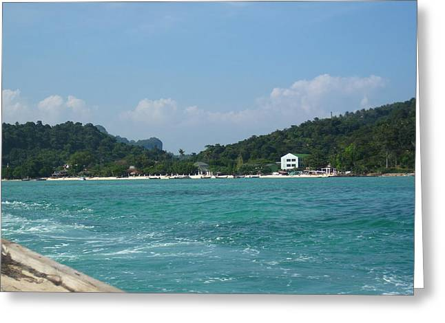 Surf Greeting Cards - Long Boat Tour - Phi Phi Island - 0113274 Greeting Card by DC Photographer