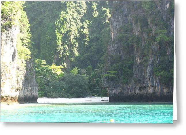 Long Boat Tour - Phi Phi Island - 011379 Greeting Card by DC Photographer