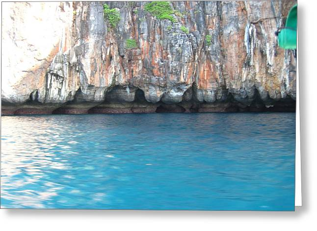 Surf Greeting Cards - Long Boat Tour - Phi Phi Island - 011388 Greeting Card by DC Photographer