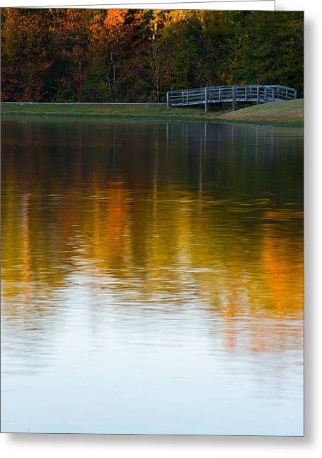 Alabaster Greeting Cards - Long Exposure of the Bridge Greeting Card by Shelby  Young