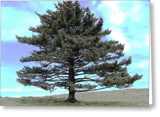 Lamdscape Greeting Cards - Long Island Tree of Life Greeting Card by Penelope Cyr-Lorenson
