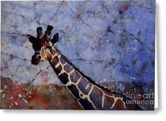 Art Reproduction Greeting Cards - Long-Neck Bottled Greeting Card by Ryan Fox