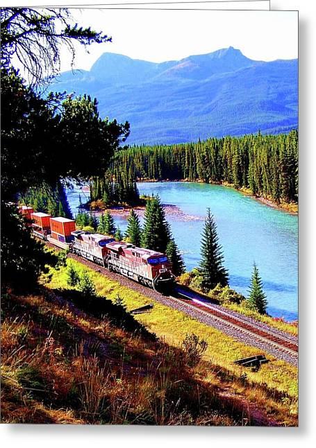Alberta Greeting Cards Greeting Cards - Longest Journey Greeting Card by Karen Wiles