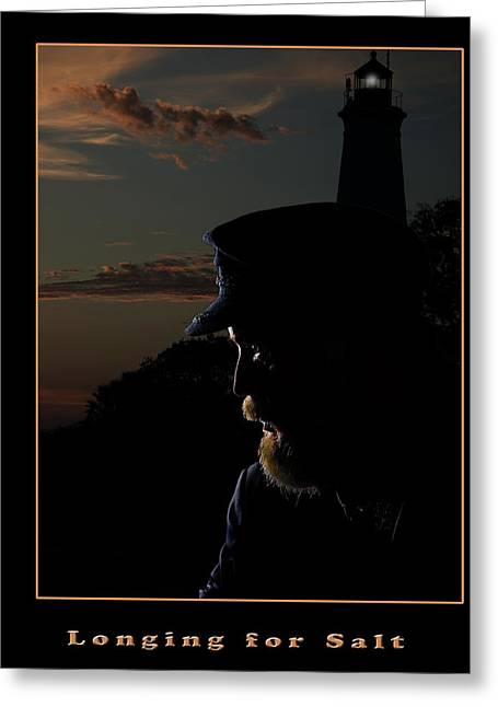 Frank Feliciano Greeting Cards - Longing For Salt Greeting Card by Frank Feliciano