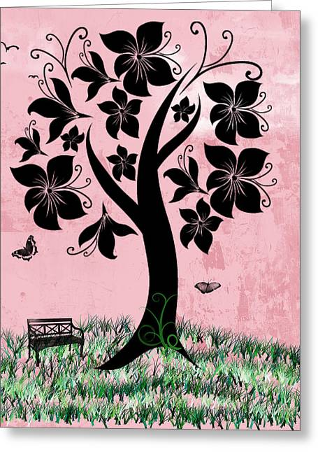 Pretty Scenes Greeting Cards - Longing for Spring Greeting Card by Rhonda Barrett