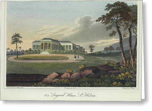 Longwood House Greeting Card by British Library