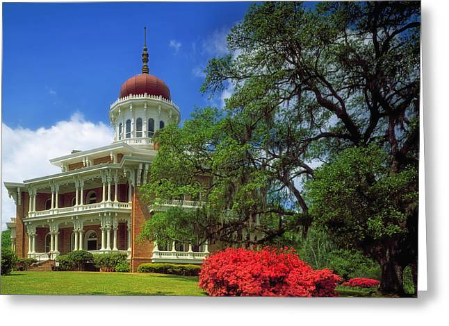 Cupola Greeting Cards - Longwood House in Natchez Greeting Card by Mountain Dreams