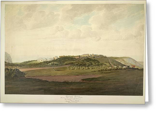 Longwood Plateau Greeting Card by British Library