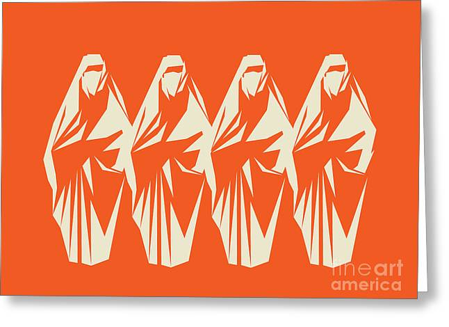 Hijab Art Greeting Cards - Look 4 Inner Beauty Greeting Card by Igor Kislev