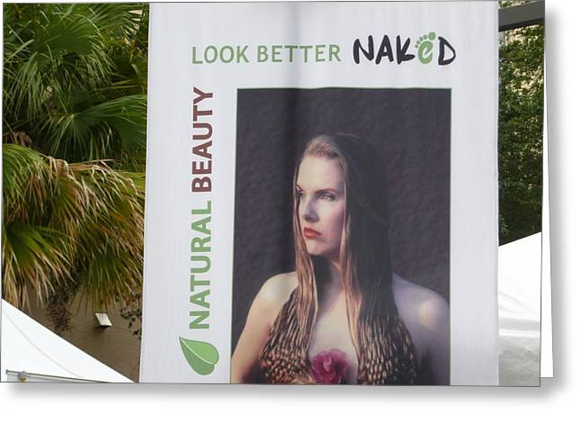 Posters Of Women Photographs Greeting Cards - Look Better Naked Greeting Card by Allan Richter