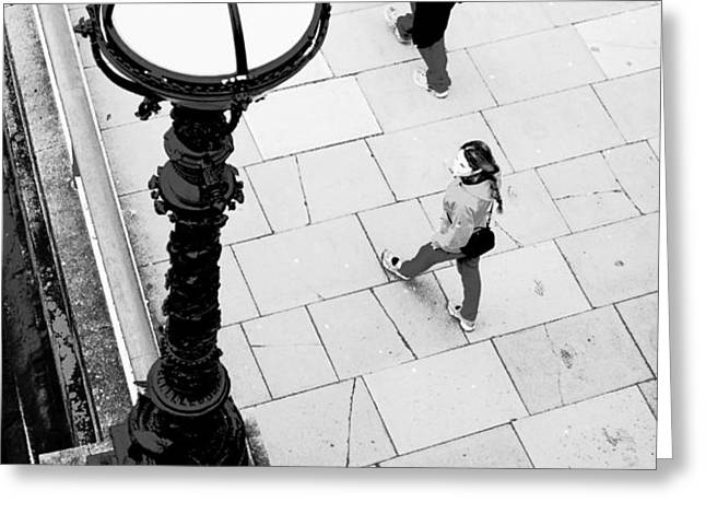 Look Left - ref 4244 Greeting Card by Colin Hogan