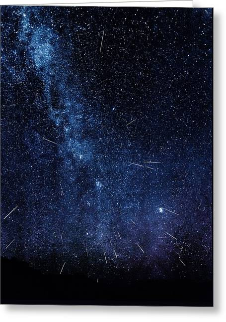 Look To The Heavens Greeting Card by Rick Furmanek