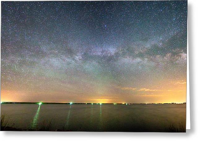 Morgan County Greeting Cards - Looking Deep Into The Night Greeting Card by James BO  Insogna