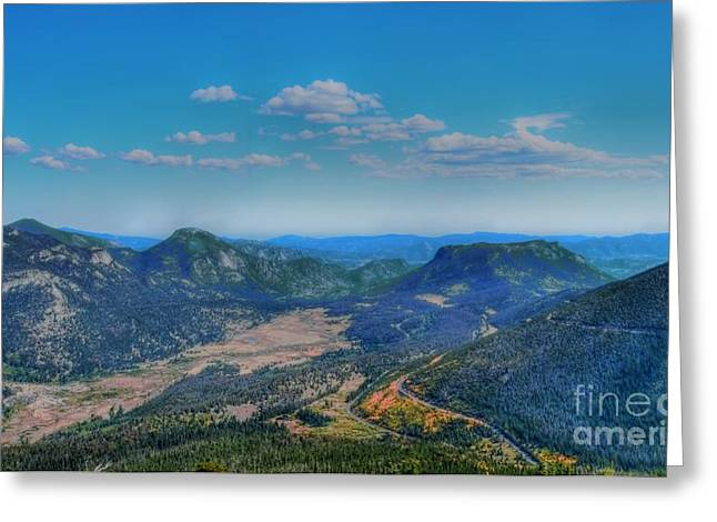 Rocky Mountain National Park Greeting Cards Greeting Cards - Looking Down Greeting Card by Kathleen Struckle