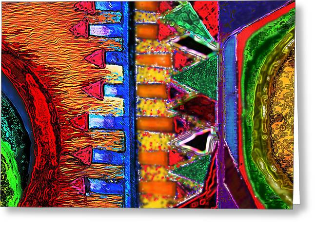 Color Enhanced Mixed Media Greeting Cards - Looking for a Clue Greeting Card by Gilbert Jimenez