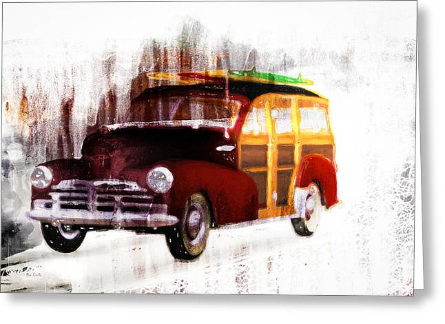 Recently Sold -  - Surf City Greeting Cards - Looking For Surf City Greeting Card by Bob Orsillo