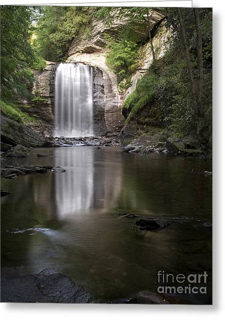 Jeremy Greeting Cards - Looking Glass Falls Greeting Card by Jeremy Kuster