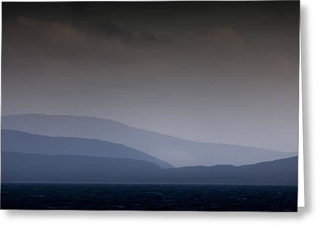 Outer Hebrides Greeting Cards - Looking out to Eriskay Greeting Card by Graham Taylor