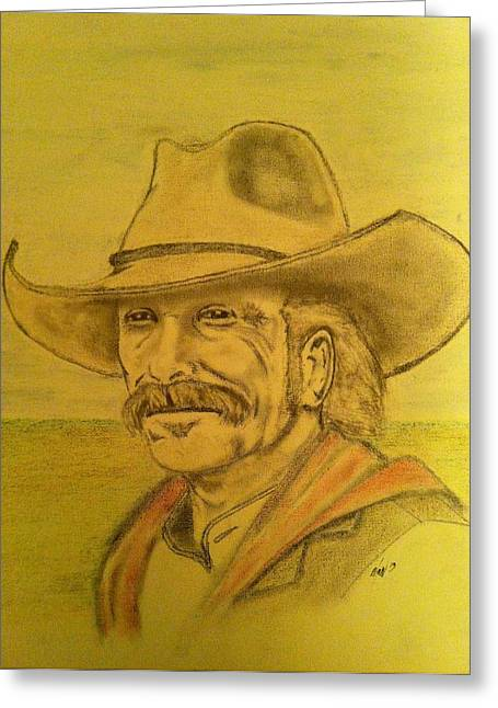 Lonesome Dove Greeting Cards - Looking toward the future Greeting Card by Mark Ward