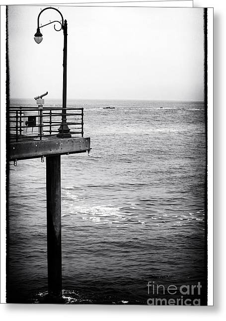 Pacific Ocean Prints Greeting Cards - Lookout Spot Greeting Card by John Rizzuto