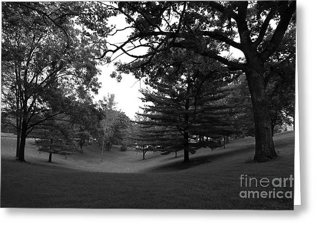 Catholic Photographs Greeting Cards - Loras College Landscape Greeting Card by University Icons