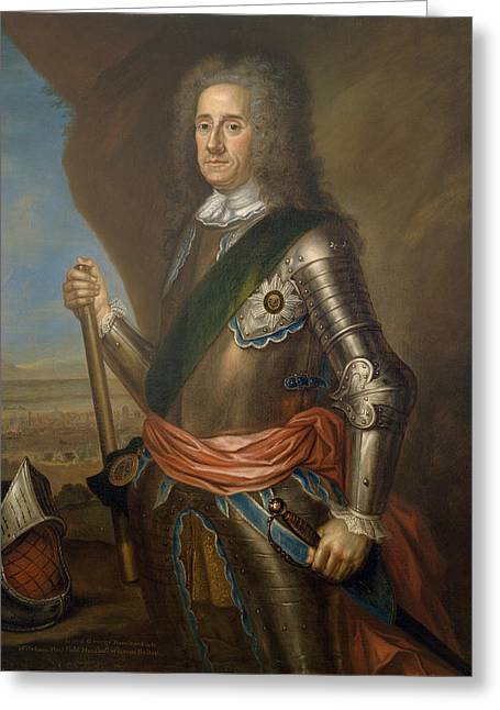 Marshal Greeting Cards - Lord George Hamilton Earl Of Orkney Greeting Card by Martin Maingaud