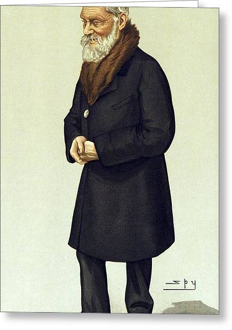 Vanity Fair Greeting Cards - Lord Kelvin, British physicist Greeting Card by Science Photo Library