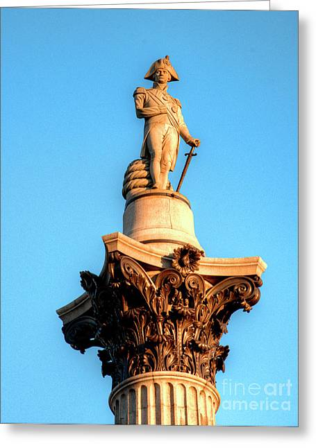 Lord Admiral Nelson Greeting Cards - Lord Nelson Greeting Card by Deborah Smolinske
