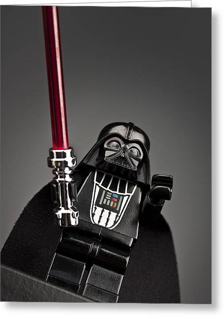 Star Wars Photographs Greeting Cards - Lord Vader Greeting Card by Samuel Whitton