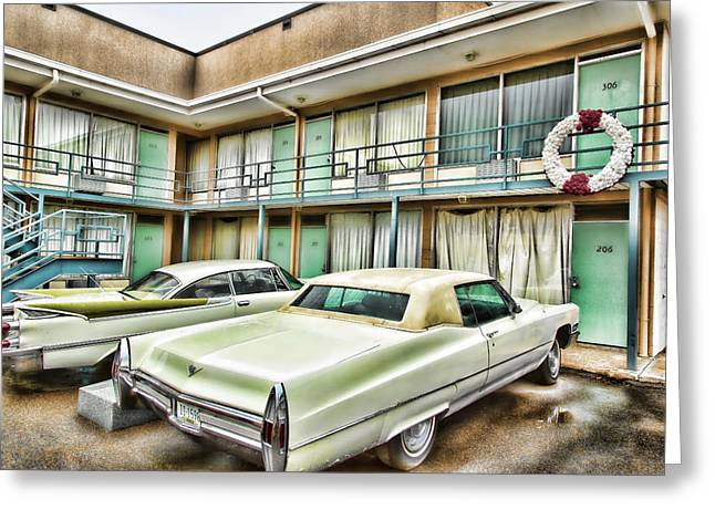Civil Rights Greeting Cards - Lorraine Hotel Room 306 Greeting Card by Stephen Stookey