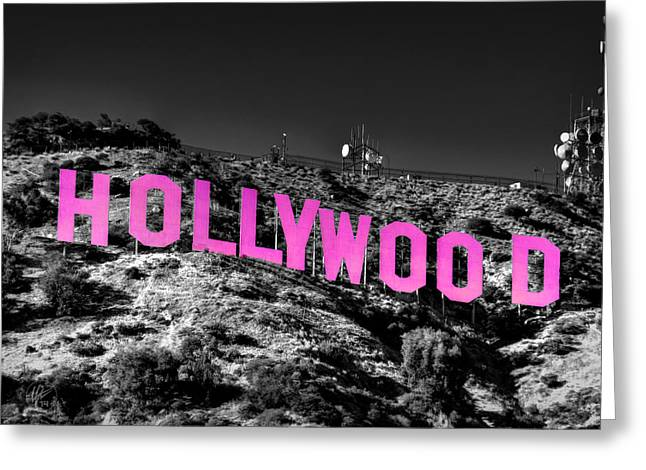 Hollywood Photographs Greeting Cards - Los Angeles 016 C Greeting Card by Lance Vaughn