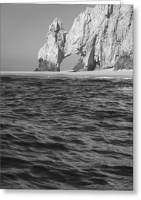 Los Arcos Greeting Cards - Los Cabos Greeting Card by Christian Heeb